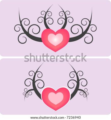 i love you heart tattoo. love heart tattoos designs.