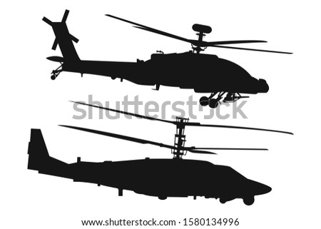two types of helicopters