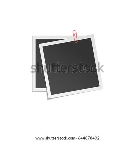 two vector frames with