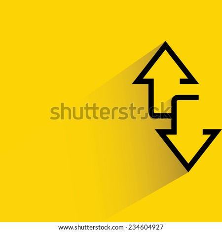 two way arrows  up and down