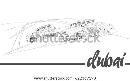 two 4x4 vehicles bashing side