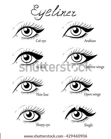 types of eye makeup cat