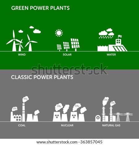 types of renewable  wind  solar