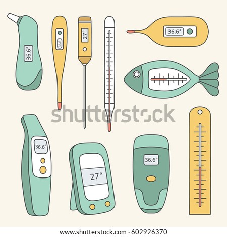 types of thermometer Gas thermometer can be of mainly two types, constant volume and constant pressure gas thermometer the constant volume thermometer determines the temperature by measuring the pressure required to keep the volume of the gas constant.