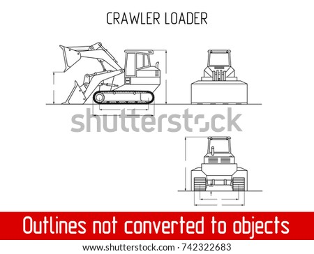 typical crawler loader overall