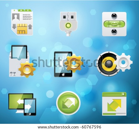 typical mobile phone apps and