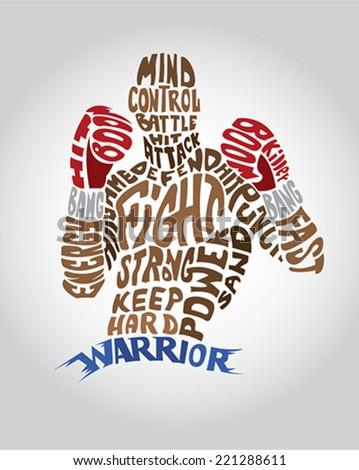 Typo Box Warrior Fighter Figure