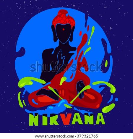 typographic poster nirvana