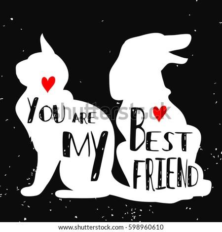 Best Friend Silhouette