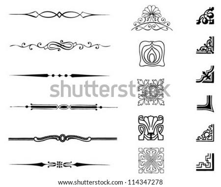 Shutterstock typographic set