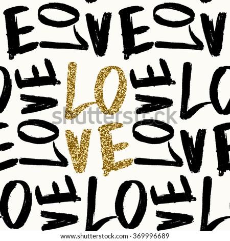 typographic style seamless