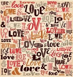 Typographic Valentines Day Design