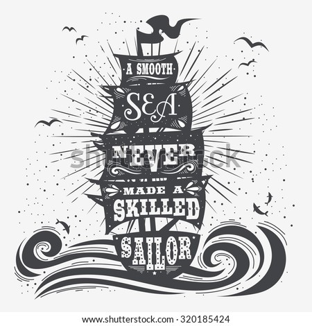 typography poster. motivational ...