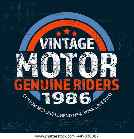 typography vintage brand logo