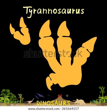 tyrannosaurus dinosaur fossil