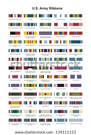 us army award medal ribbons