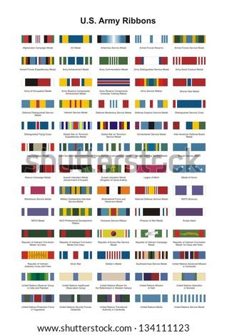 us army award medal ribbons