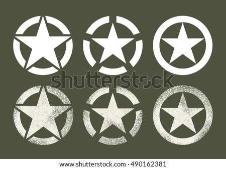 us military stars