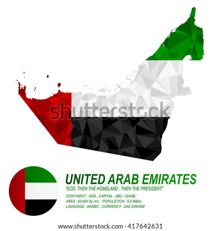 uae flag overlay on uae map
