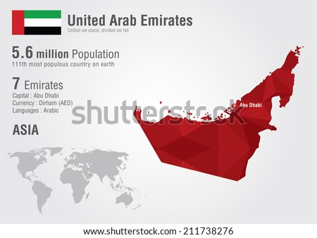 United Arab Emirates Map Download Free Vector Art Stock Graphics
