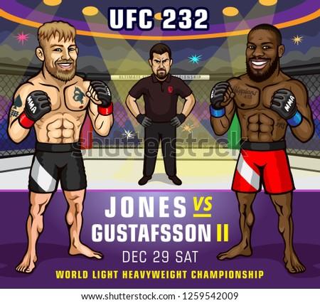 ufc 232 jones vs gustafsson 2