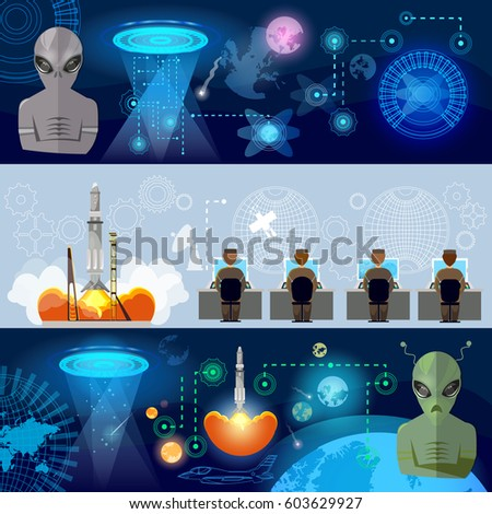 ufo banner  kidnapping aliens