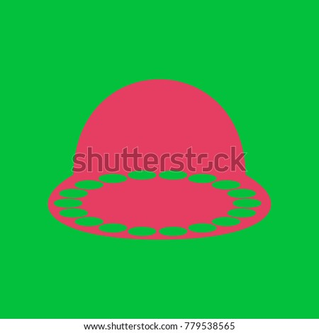 ufo icon illustration vector
