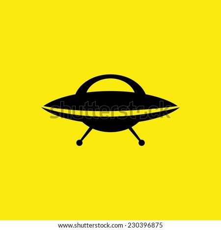 ufo icon vector illustration