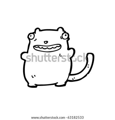 Ugly Cat Pics. stock vector : ugly cat