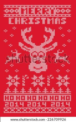 ugly christmas 2014 sweater