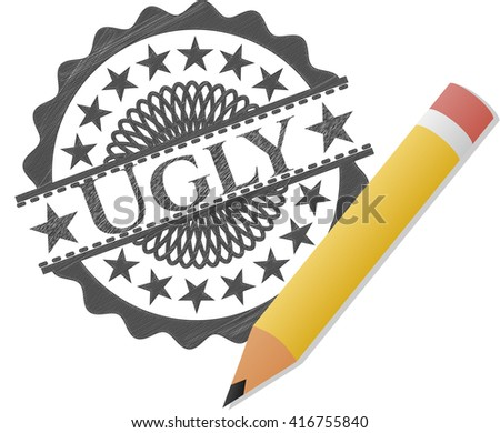 Ugly pencil draw