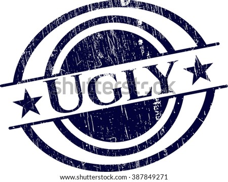 Ugly rubber grunge seal
