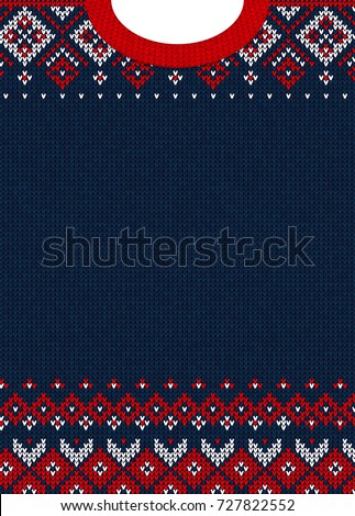 ugly sweater merry christmas...