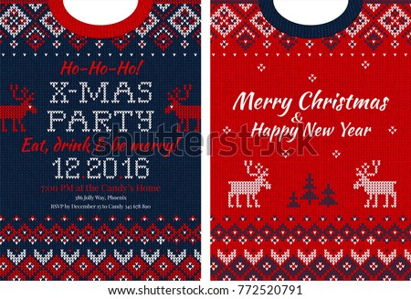 Xmas Sweater Free Vector Art 56 Free Downloads