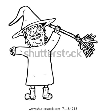 Ugly Witch Drawing Ugly Witch Cartoon