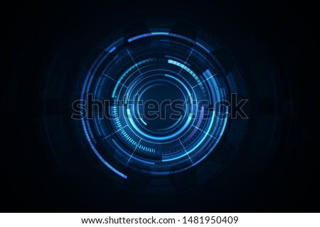 ui hud screen tech system