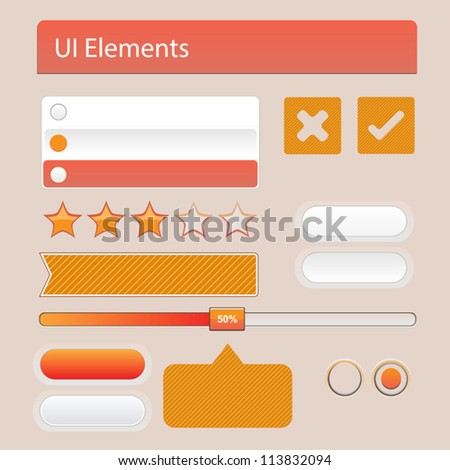 UI Web Elements: Buttons, Switchers