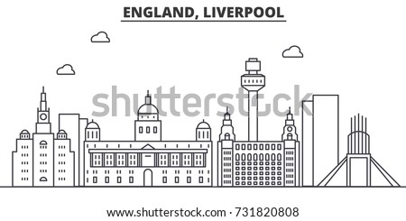 uk liverpool architecture line
