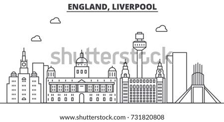 uk liverpool architecture line