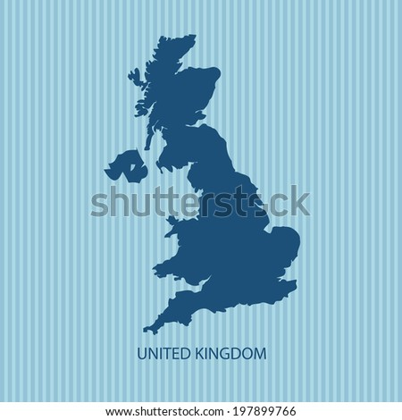 UK MAP VECTOR UNITED KINGDOM MAP BRITAIN MAP