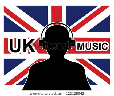 uk music concept with a