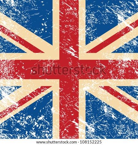 UK retro flag