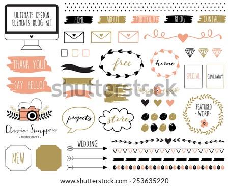 ultimate design elements blog...