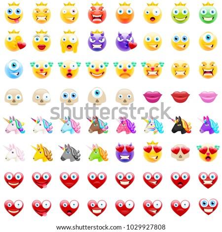 ultimate set of modern emojis