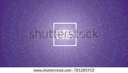 ultra violet abstract vector