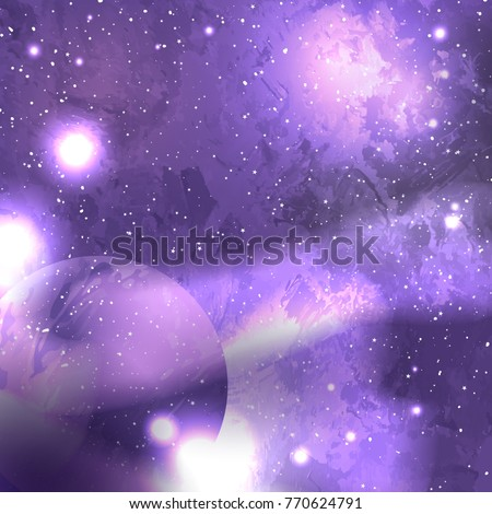 ultra violet galaxy space