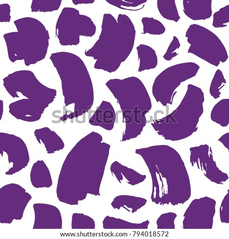 ultra violet pattern drawn in