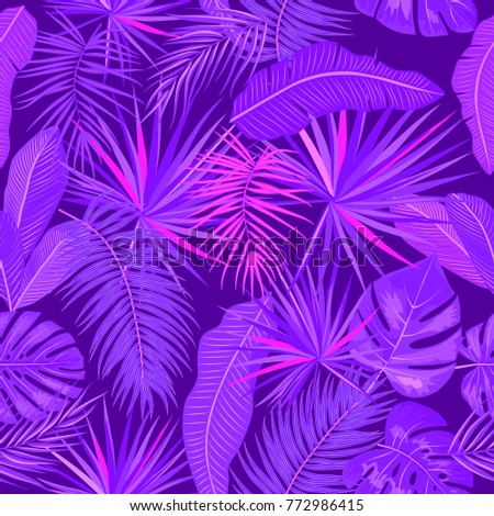 ultra violet seamless pattern
