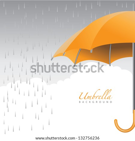 umbrella background eps 8