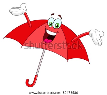 Umbrella cartoon